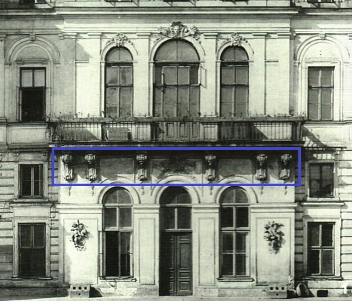 Balkon Pałacu Brühla